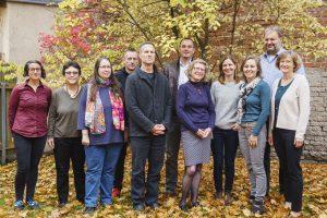 Die Mitarbeiterinnen und Mitarbeiter der Abteilung Englisch für Philologie